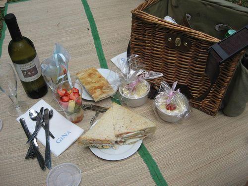 Gina restaurante en Roma con opción a picnic