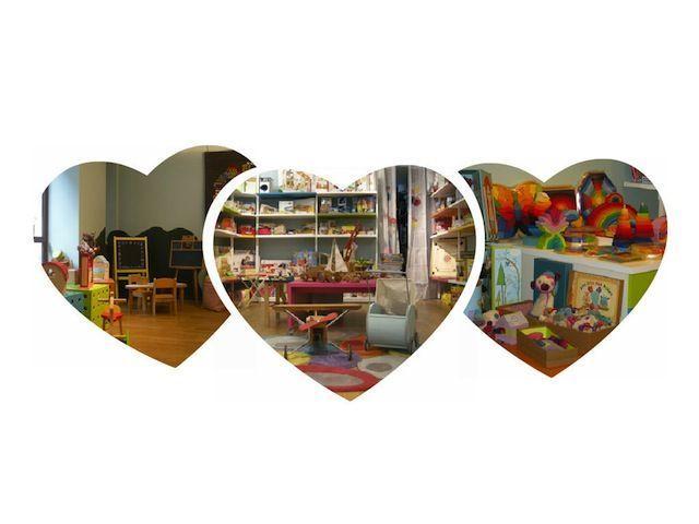 collage de la tienda