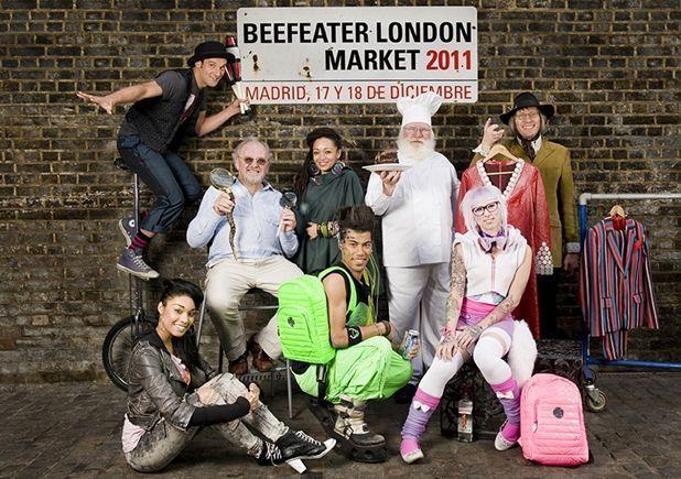 beefeater london market, edición Navidad