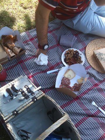 Picnic restaurant, un picnic chic en Barcelona