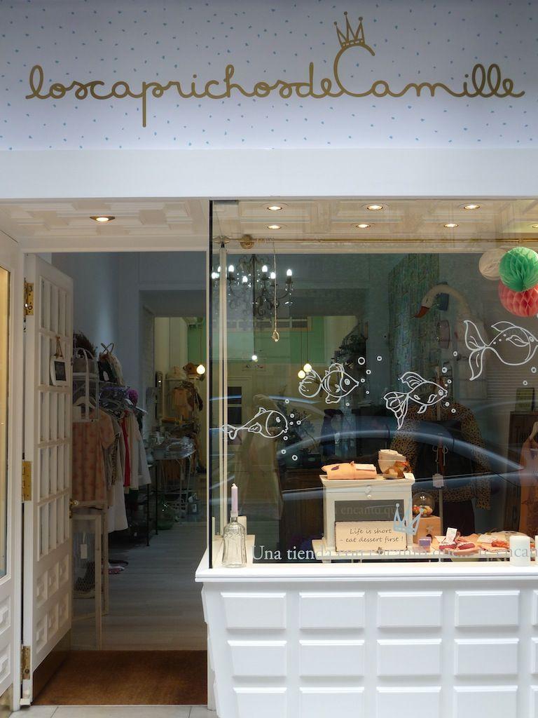 los caprichos de Camille, tienda en Bilbao
