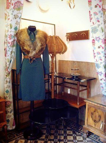 Interior de la Cierva vintage