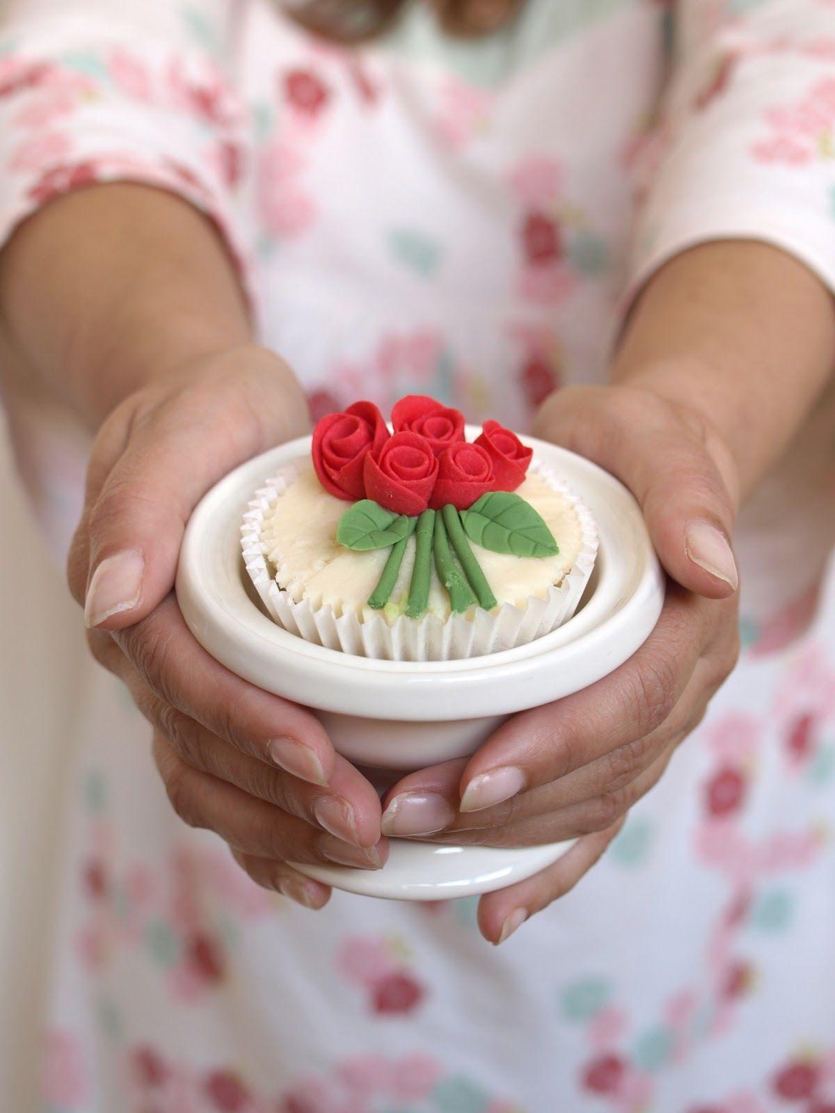 Cup cake, cursos de decoración en Asturias