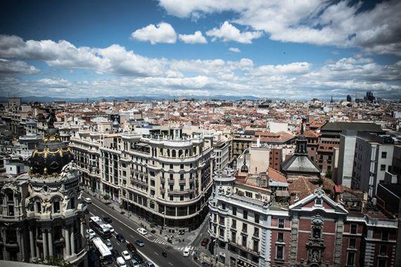 Barrios del centro de Madrid