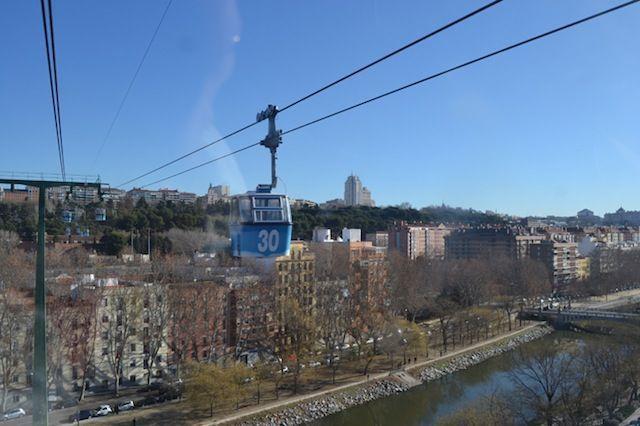 Madrid en teleférico