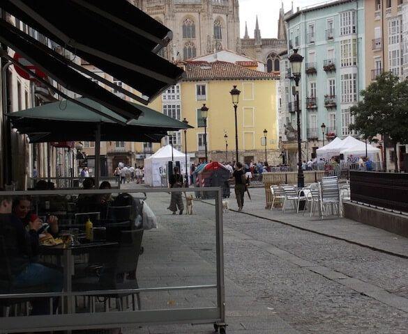 Terrazas Burgos, las cinco mejores zonas del centro