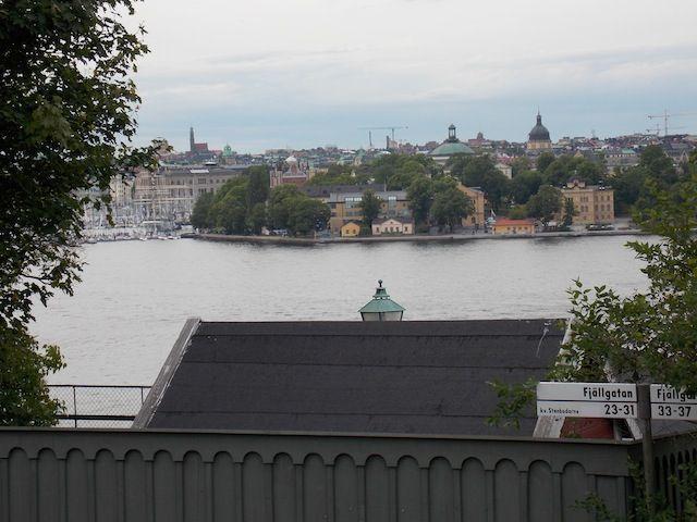 Vistas desde Fjällgatan