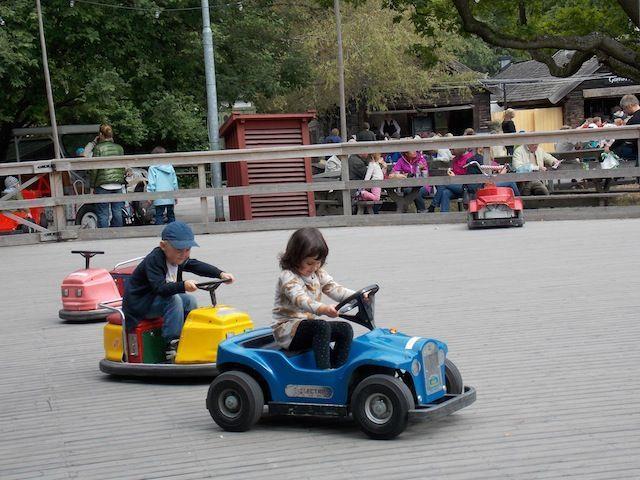 Skansen , un museo al aire libre en Estocolmo
