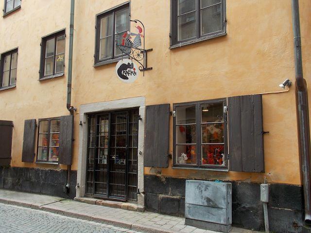 Tiendas de Gamla Stan, ruta por el diseño sueco