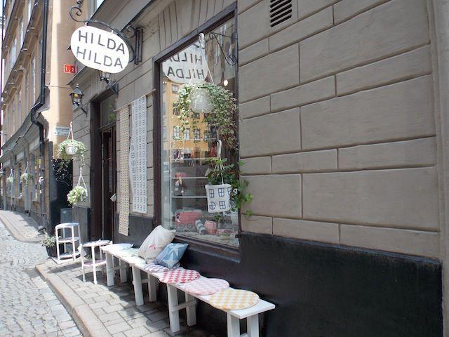 Tiendas de Gamla Stan , ruta por el diseño sueco