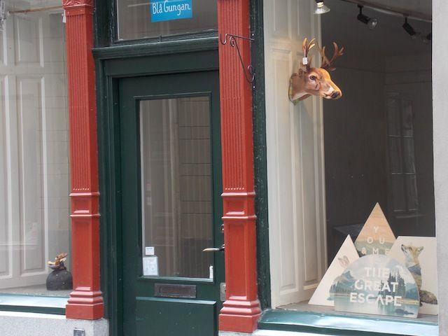 Tiendas en Gamal Stan, ruta por el diseño sueco