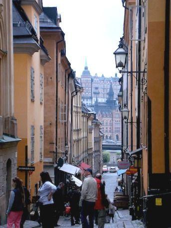 Gamla Stan una ruta por el centro de Estocolmo