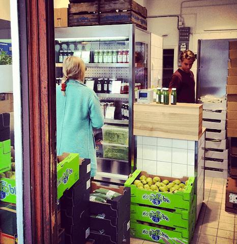 Juicebars, bares saludables en Estocolmo
