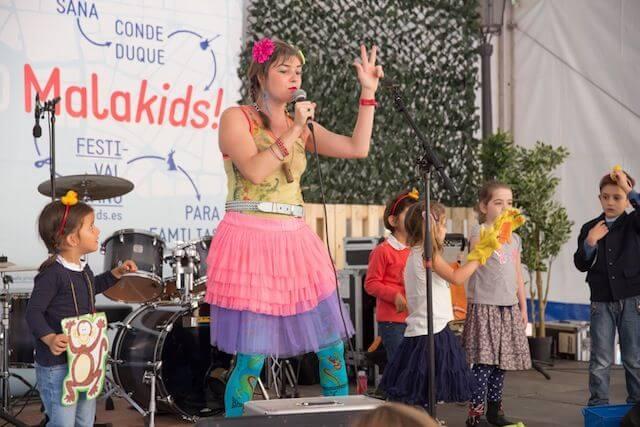 Malakids, el festival familiar de Malasaña