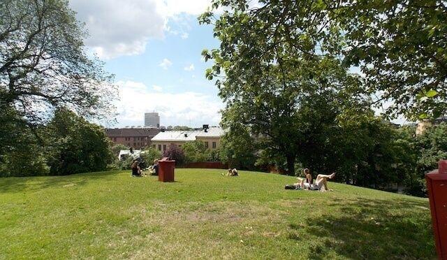 Picnic en Estocolmo, parques chulos