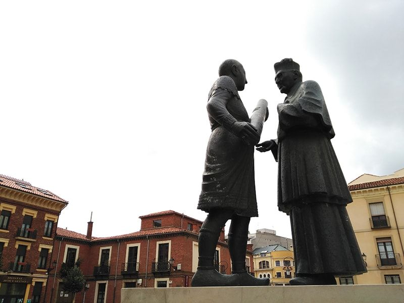 Plaza en León