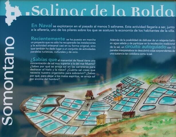 El Salinar de Naval, el Mar Muerto de Somontano