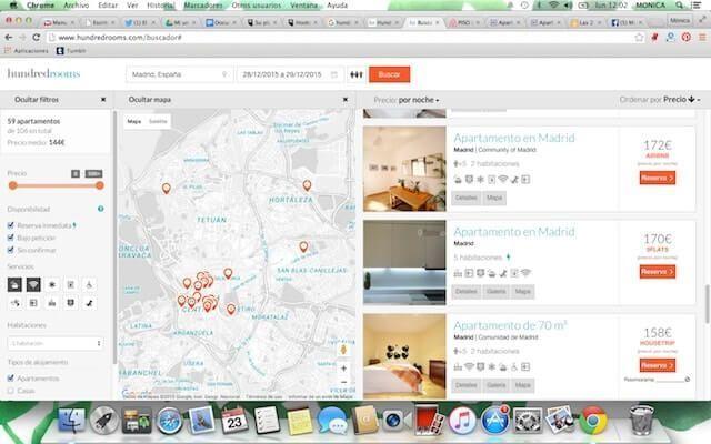 Cómo usar un buscador de alojamiento como HundredRooms