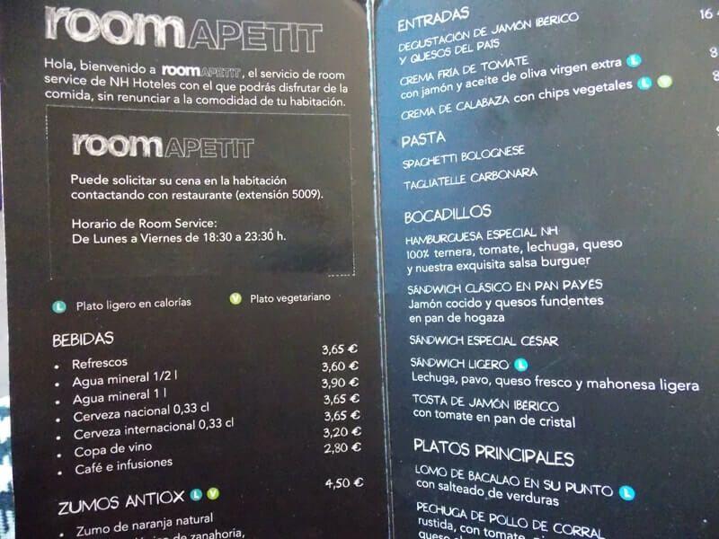 Room Apetit en el NH Bálago de Valladolid