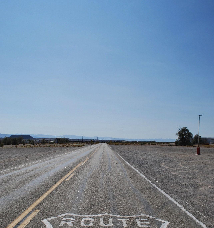 Carretera en la Ruta 66