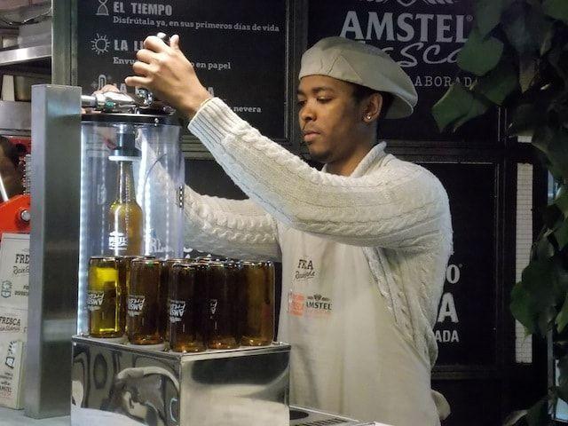 Envasando cerveza fresca