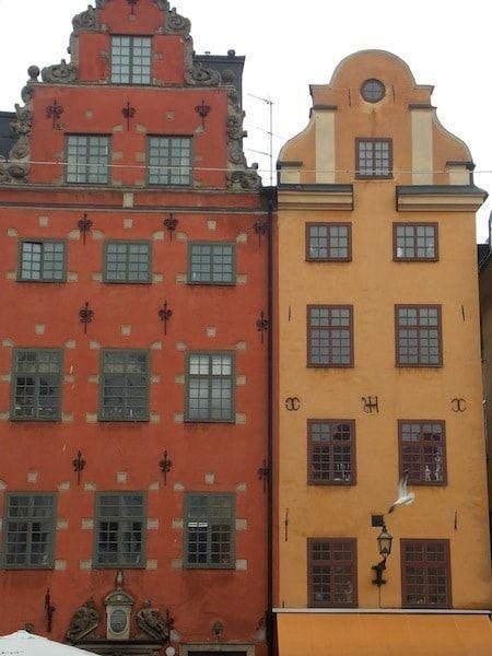 Casas en la plaza Stortorget