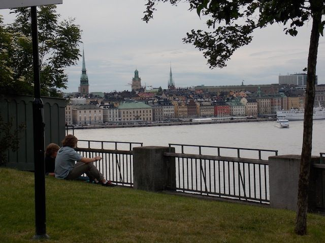 Mirador desde la calle Fjällgatan