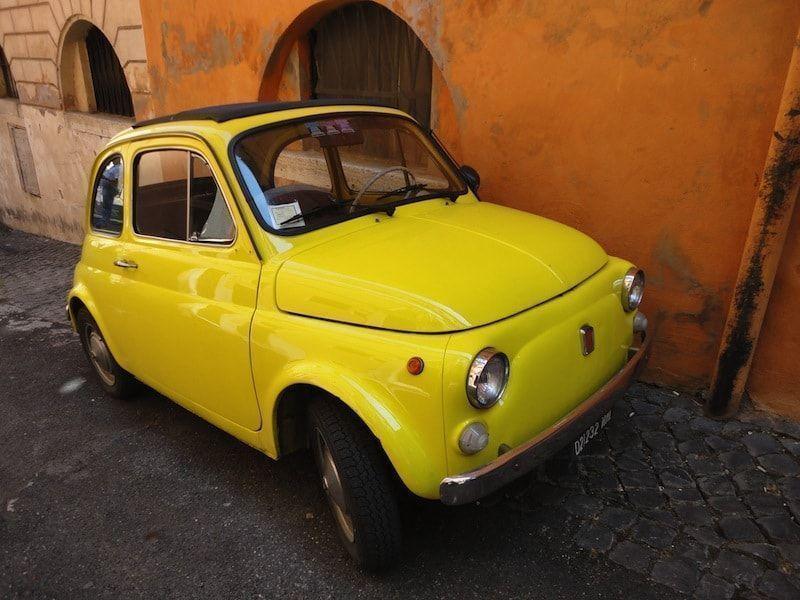 Tour en un Fiat 500