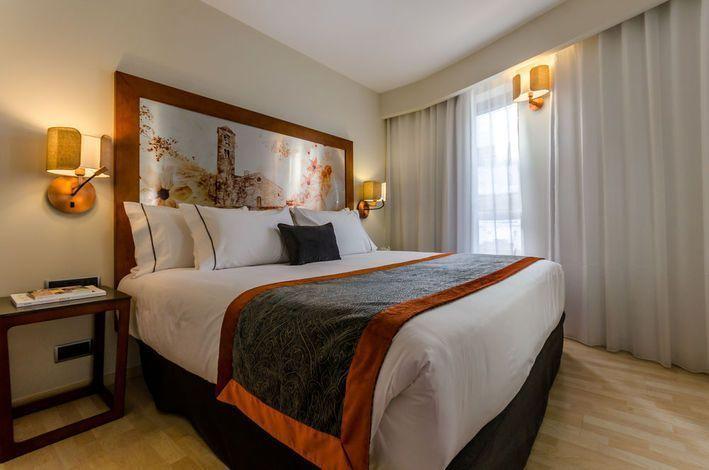 Habitación del Hotel Eurostar en Andorra
