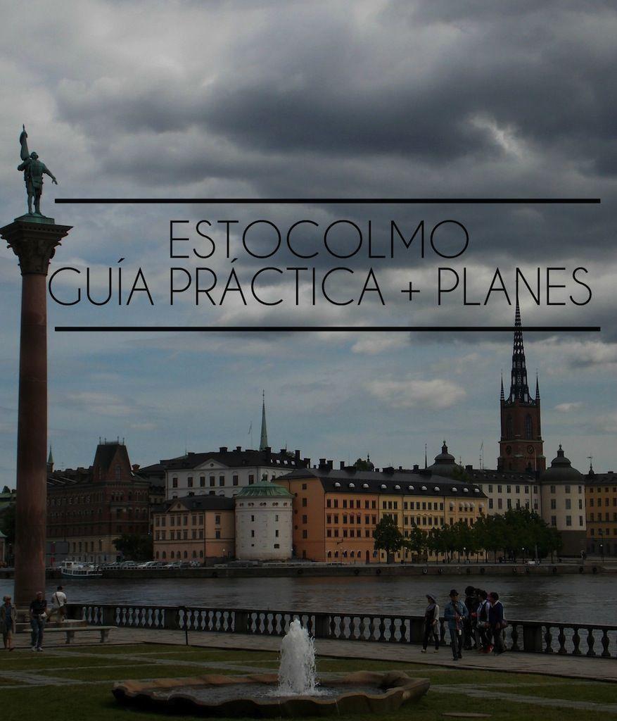 Guia de Estocolmo Suecia