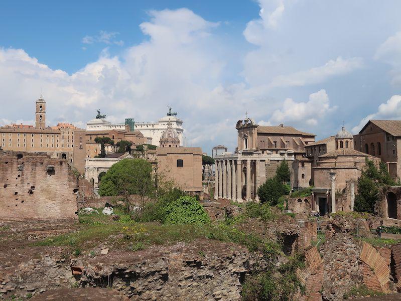 Qúe ver en la Roma antigua