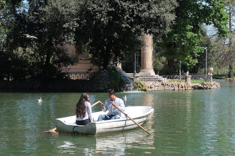 parques y jardines en Roma