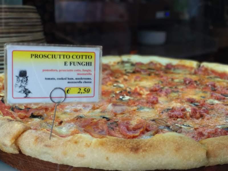 qué pizza comer en roma