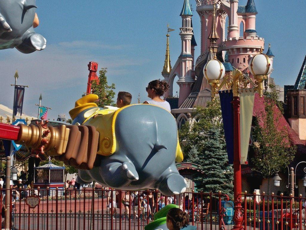 Volando en Dumbo