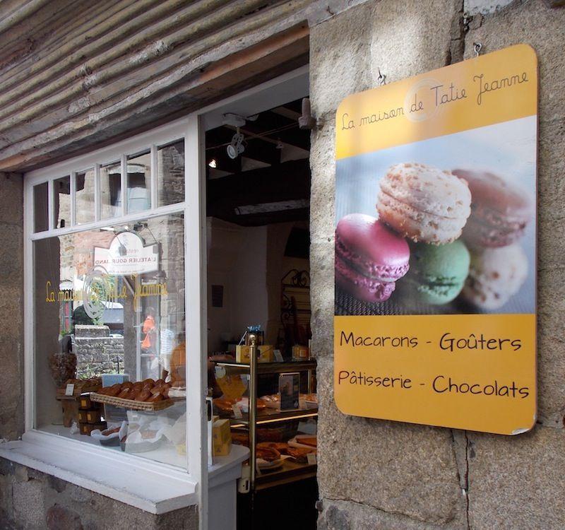 pastelería en Dinan