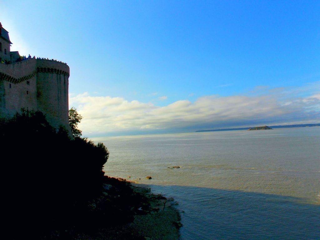 Atardecer en el Mont Saint Michel