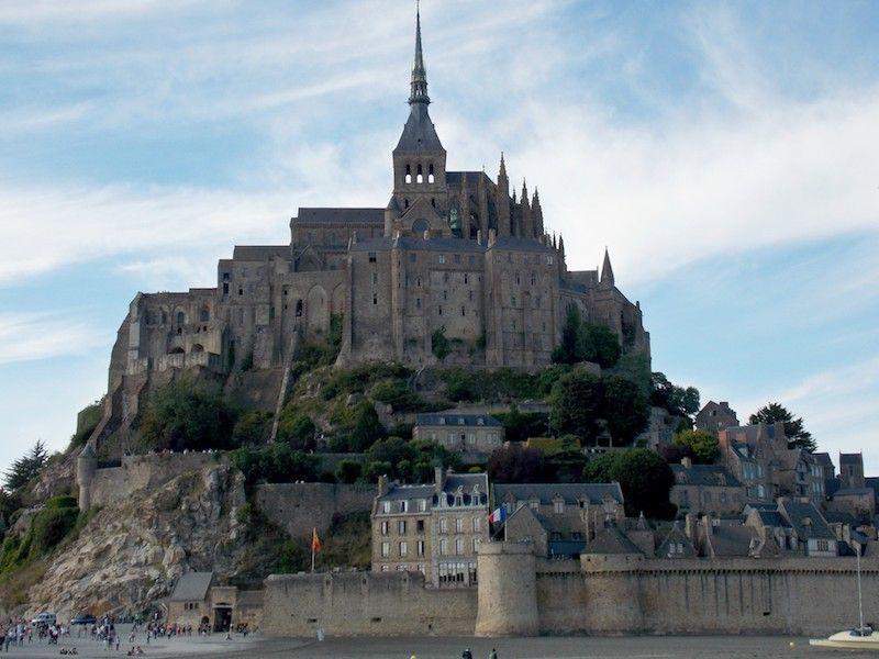 Mont Saint Michel y las murallas