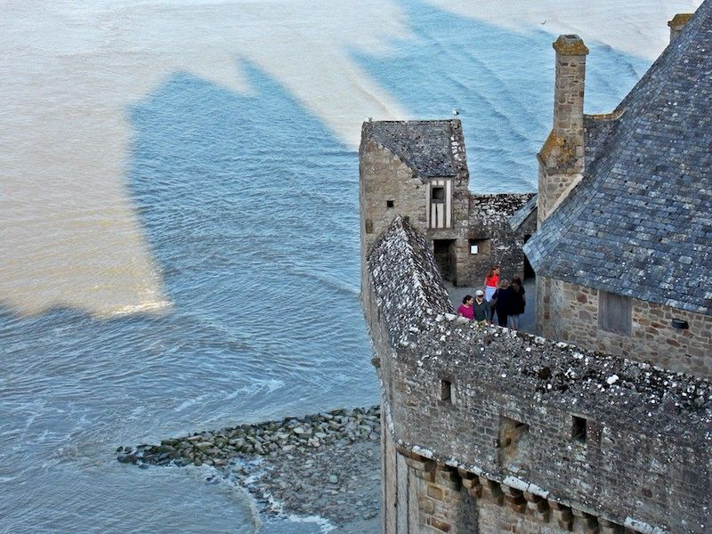 Ver las mareas desde las murallas