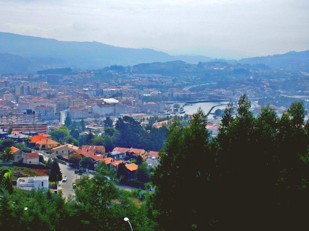 Vistas de Pontevedra desde Poio
