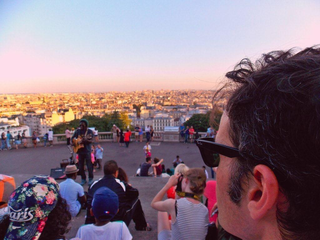 Vistas del Sagrado Corazón de París