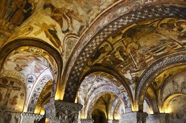 Interior de la Colegiata de San Isidoro de León
