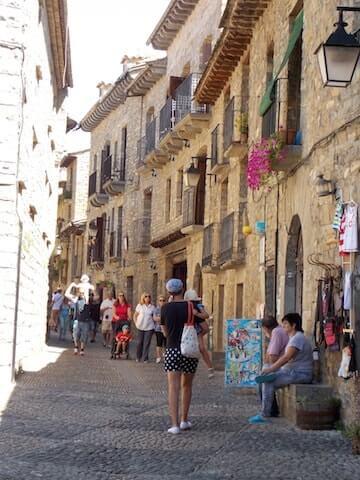 Calles medievales de Ainsa