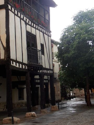 Plaza de Doña Sancha en Covarrubias