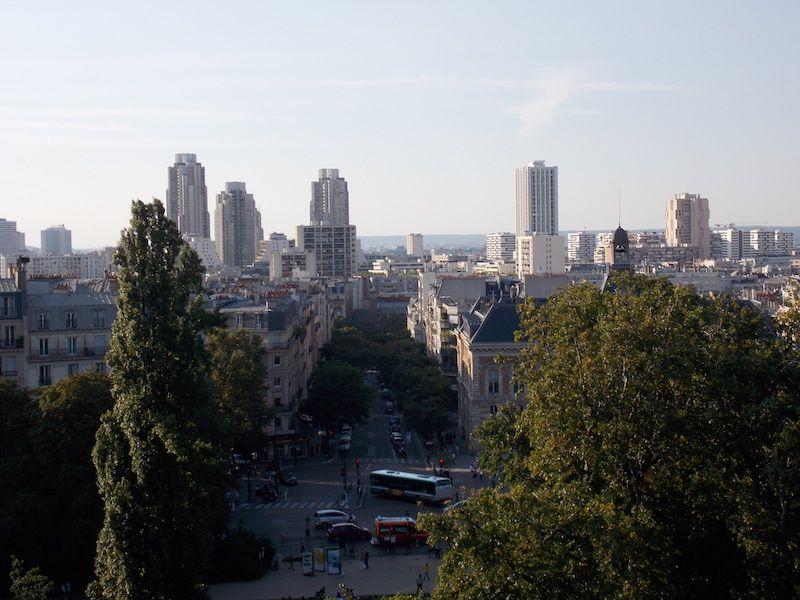 Rascacielos desde Chaumont