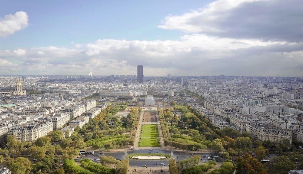 Vistas desde la torre Eiffel París