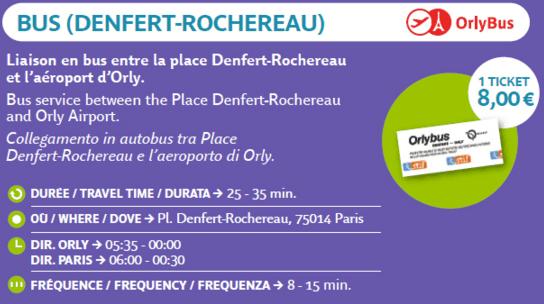 Bus Defert-Rocherau a París