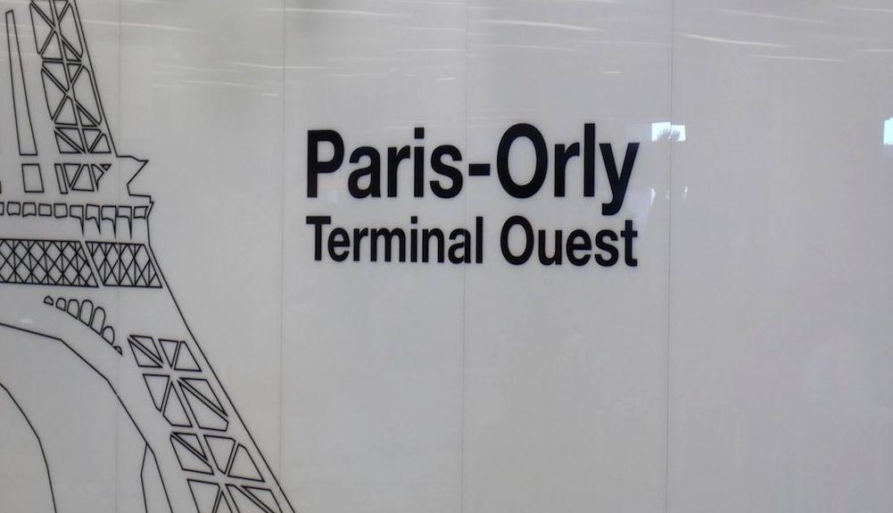 Terminal Oeste aeropuerto Orly París