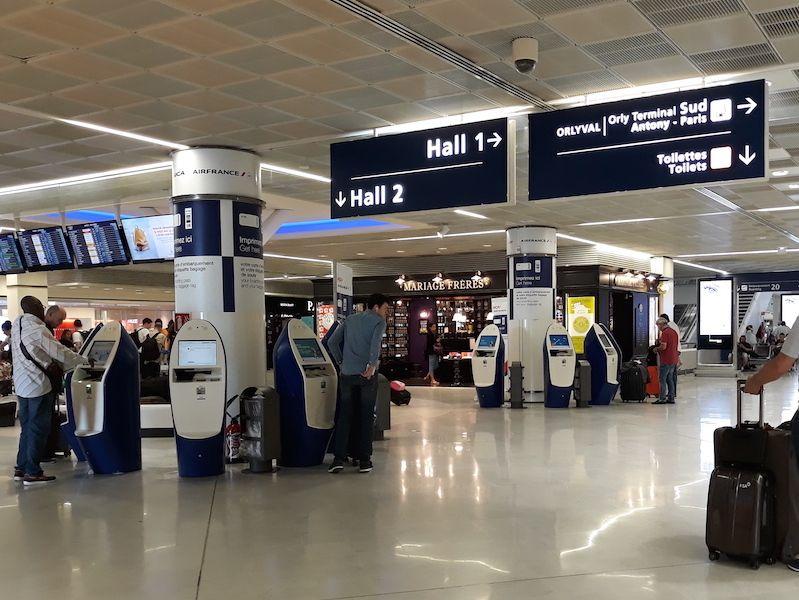 aeropuerto Orly París centro