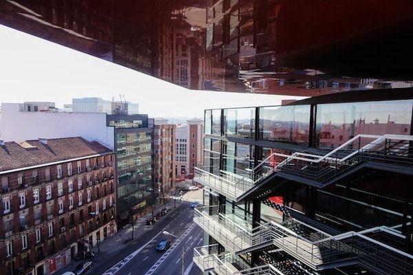 Vistas de Madrid desde el Museo Reina Sofía