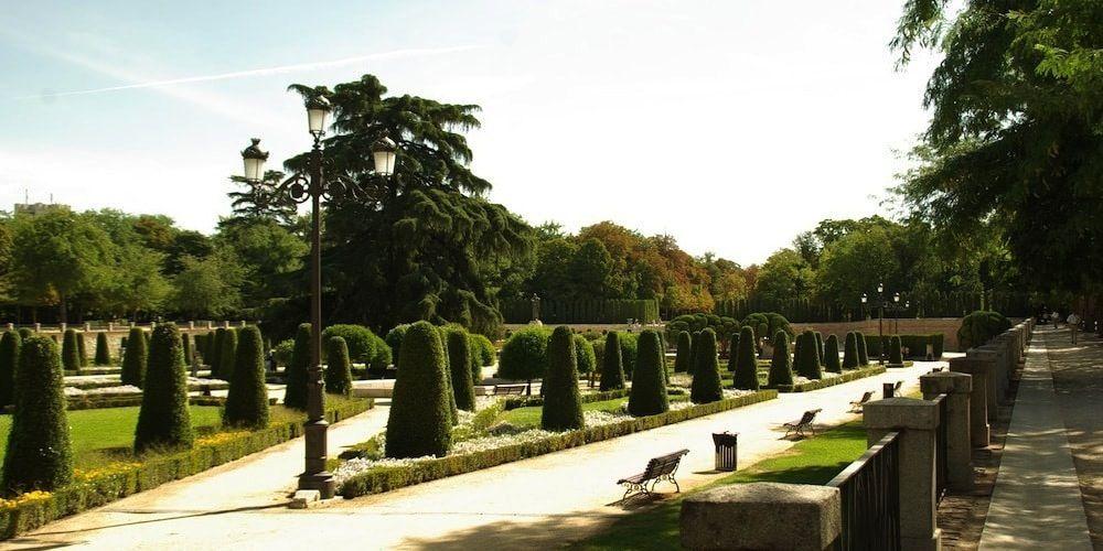 Jardines de Madrid en el Retiro